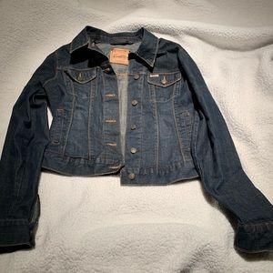 Vintage Levi dark wash jacket medium/large